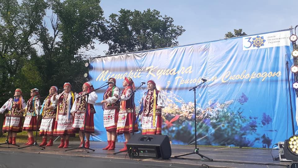 Альбом: Представники нашої громади взяли участь в заходах у Сковородинівці, де 3 липня відзначили свято Івана Купала