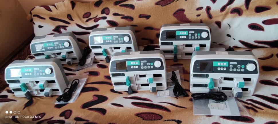Альбом: Первомайська лікарня почала отримувати обладнання для відділення паліативної допомоги від МЗС Японії!