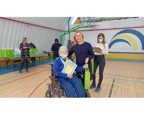 Сьогодні у ФОК «АНГАР» відбувся захід з нагоди Міжнародного дня людей з  інвалідністю