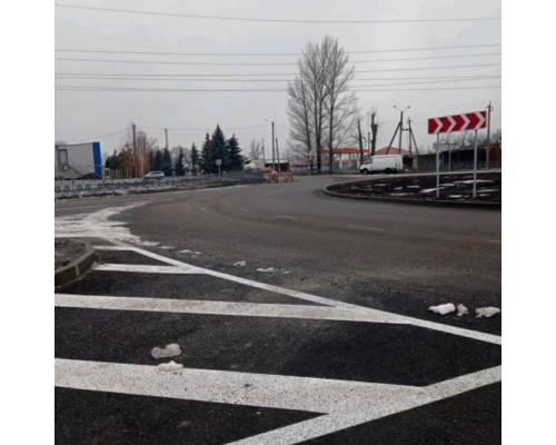 Міський голова доручив організувати відновлювальні ремонтні роботи ділянки перехрестя з круговим рухом