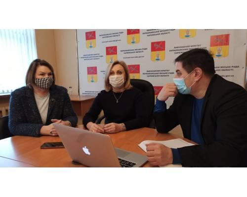 """Проєкт \""""Зміцнення ресурсів для сталого розвитку приймаючих громад на сході України\"""" в Первомайському"""