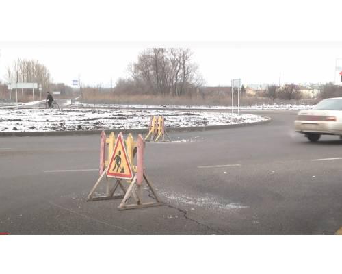 Інформація щодо провалу на перехресті з круговим рухом