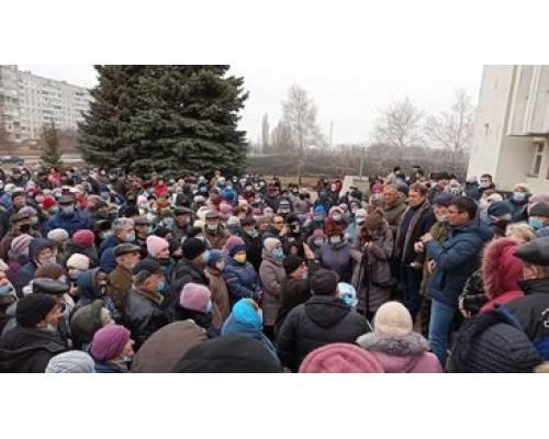 У місті пройшов другий мітинг за зниження комунальних тарифів