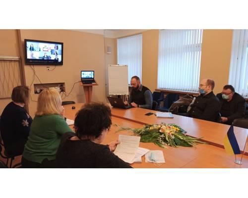 Відбулась онлайн-зустріч Координаційної групи GIZ