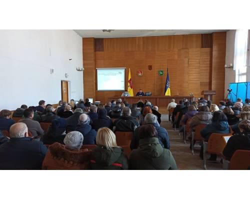 Сьогодні відбулось пленарне засідання  6 сесії міської ради 8 скликання