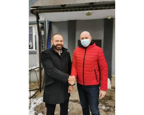 Відбулась зустріч міського голови Миколи Бакшеєва з народним депутатом Олександром Літвіновим.