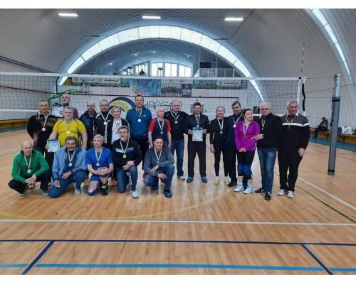 В Первомайському відбувся міський турнір з волейболу серед ветеранів
