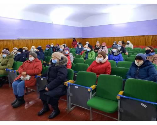18 березня у Грушинському СБК пройшла робоча зустріч з питань надання житлово-комунальних послуг