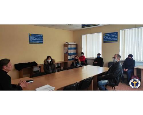 Правопросвітницький захід на базі Первомайської міськрайонної філії ХОЦЗ
