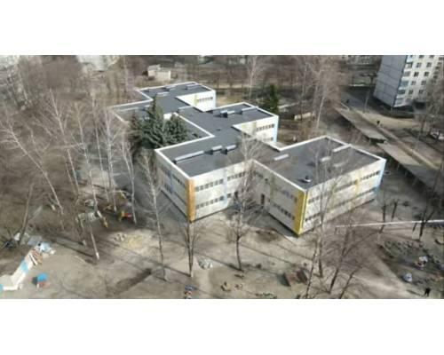 Дошкільний навчальний заклад №14 м. Первомайський. Фінішна стадія реконструкції (термомодернізація закладу).