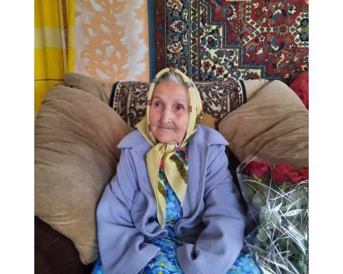 Вітаємо жительку Первомайської міської територіальної громади з ювілеєм 95-річчя з Дня народження!