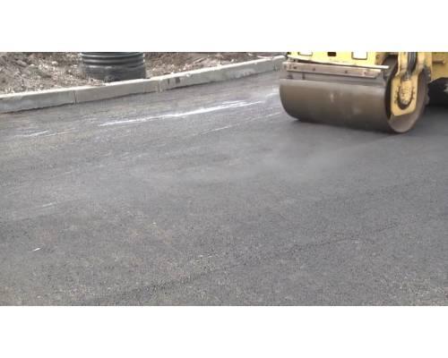Дорожнє покриття на головному перехресті міста відновлено