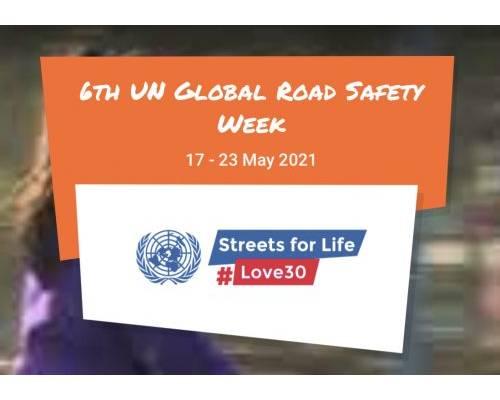 Україна приєднується до 6-го Глобального Тижня безпеки дорожнього руху 2021