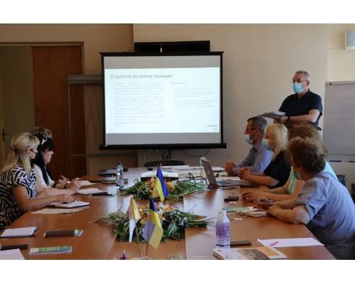 Сьогодні партнери від GIZ знову надавали методичну допомогу Первомайській міській територіальній громаді.