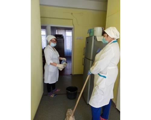 Територіальний центр міста звітує про заходи з запобігання поширенню коронавірусу COVID-19