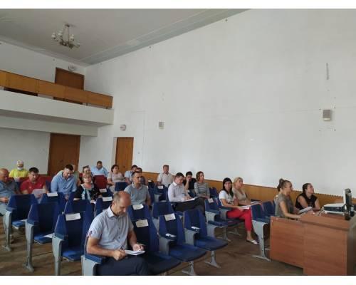 Відбулось 16 засідання чергової сесії Первомайської міської ради 8 скликання.
