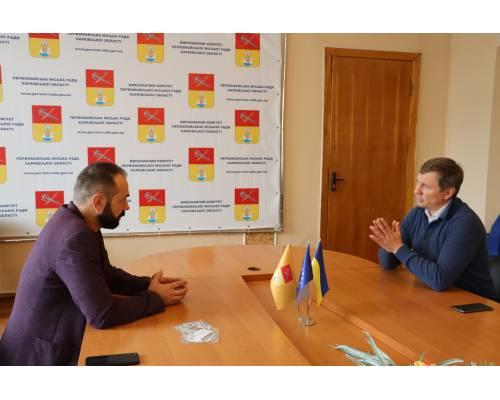 Первомайщину відвідав народний депутат України Сергій Шахов.