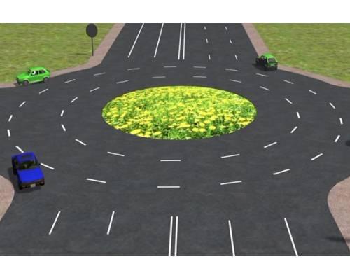 В місті з'явиться перехрестя з круговим рухом автотранспорту