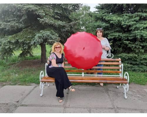 Громадський бюджет: площа біля Палацу культури «Хімік» поповнилась новими парковими  інсталяціями