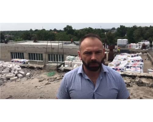 Міський голова Микола Бакшеєв про  термомодернізацію ліцею №3