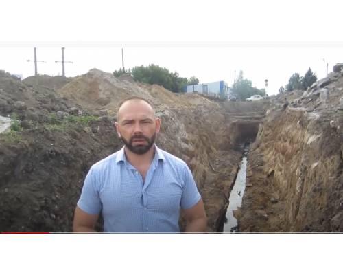 Оперативна інформація міського голови Миколи Бакшеєва про роботи на колекторі К-1
