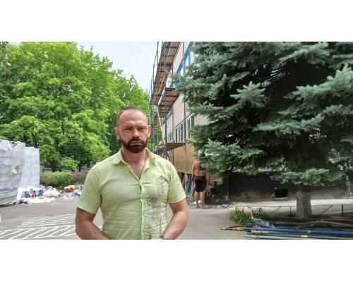 Міський голова Микола Бакшеєв  про термомодернізацію ДНЗ №14