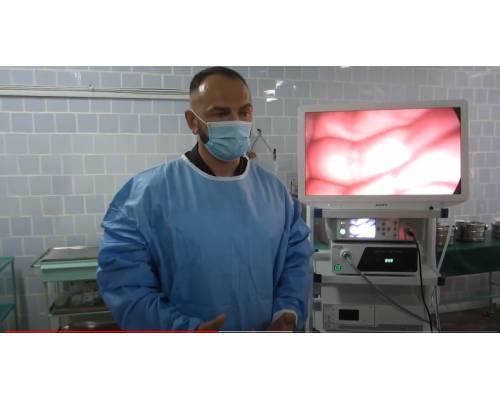 Оперативна інформація. Придбання лапароскопічної стійки для хирургічного відділення.