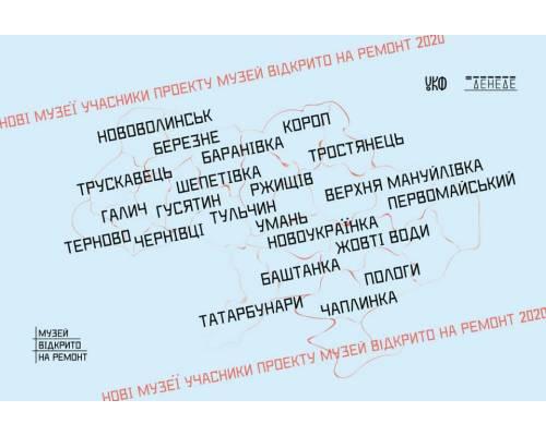 """Первомайський краєзнавчий музей став учасником проєкту \""""Музей відкрито на ремонт 2020\"""""""
