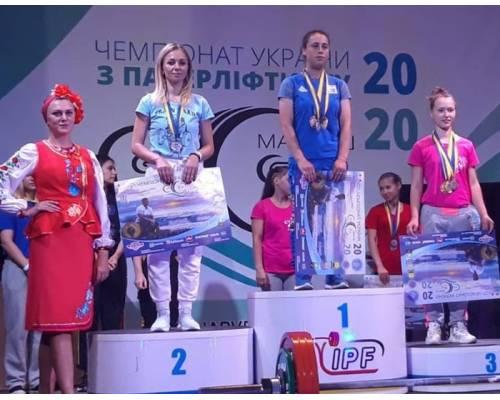 Срібло на чемпіонаті України з паверліфтингу.