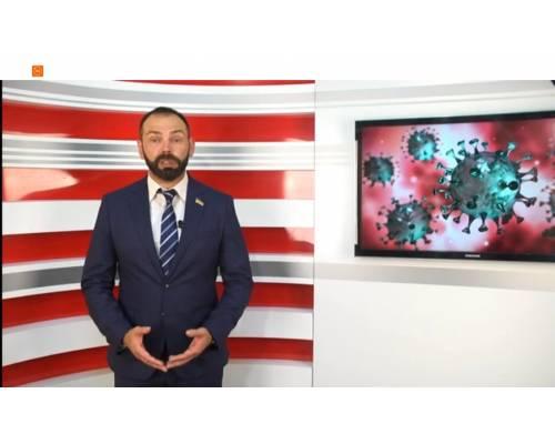 Оперативна інформація міського голови Миколи Бакшеєва: Про стан захворюванності на Covid-19