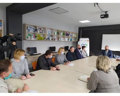 Відбувся круглий стіл з обговорення комунальної інфраструктури в межах формування Первомайської ОТГ
